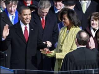 مراسم تحلیف اوباما