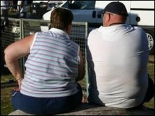زوج چاق