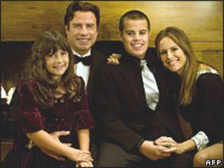 Família Travolta (arquivo)