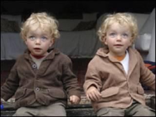 Pesquisa foi feita com gêmeos