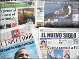 Jornais latinos