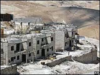 O assentamento de Maale Adumin foi um dos que registrou novas construções