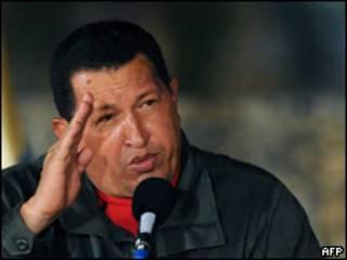 O presidente da Venezuela, Hugo Chávez (AFP)
