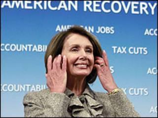 A líder da Câmara dos EUA, Nancy Pelosi