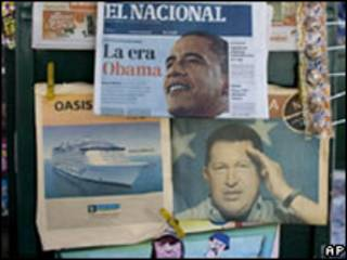 Jornais venezuelanos (foto de arquivo)