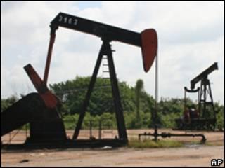 Poço de petróleo na Venezuela