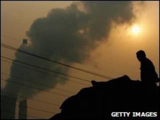 Indústria em Pequim (foto de arquivo)