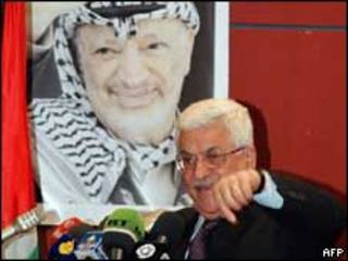 O presidente da Autoridade Nacional Palestina, Mahmoud Abbas