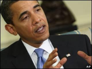 O presidente dos Estados Unidos, Barack Obama ,  em 2 de fevereiro (AP)