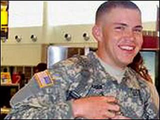 O soldado Daniel Pharr