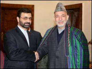 حامد کرزی و مالکی - عکس از دفتر ریاست جمهوری افغانستان