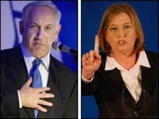 Binyamin Netanyahu e Tipzi Livni