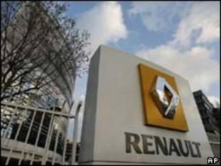 Sede da Renault, nas proximidades de Paris (arquivo/AP)