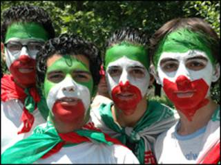 طرفداران تیم ملی فوتبال ایران