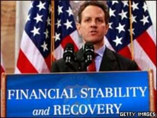 O secretário do Tesouro dos EUA, Timothy Geithner