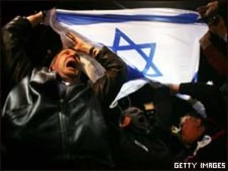 Apoiadores do Likud observam apuração de votos (Getty Images)
