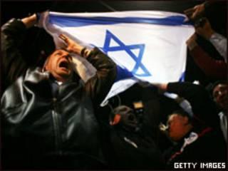 Eleitores de Netanyahu em Tel Aviv