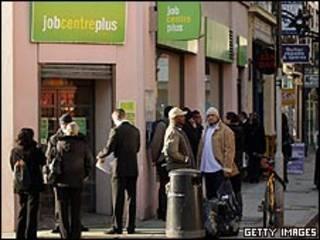 Agência de empregos em Londres