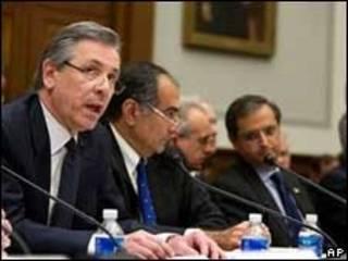 Banqueiros falam no Congresso dos EUA