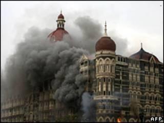 Mumbai depois de ataques em novembro de 2008