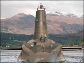 HMS Vanguard (Foto de arquivo)