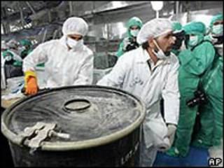 Usina nuclear de Isfahan, no Irã