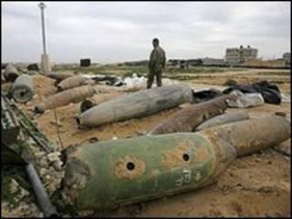 مهمات منفجر نشده اسرائیل در رفح