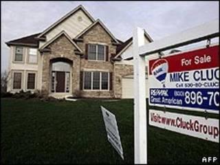 Casa à venda nos Estados Unidos (arquivo)