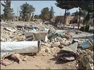 مخروبه حسینیه دراویش گنابادی در اصفهان