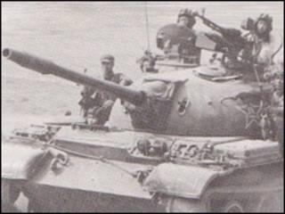 Xe tăng Trung Quốc trong cuộc chiến hồi năm 1979