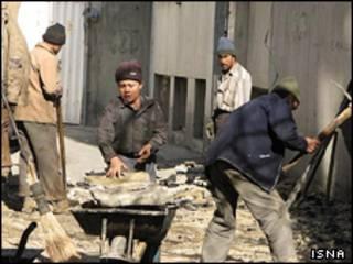 کارگر افغان