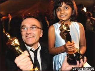 Danny Boyle e Rubiana Ali