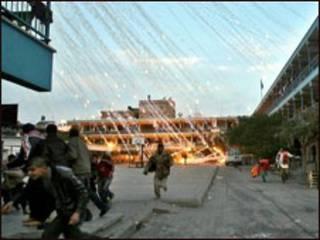 Bombardeio israelense na Faixa de Gaza (arquivo)