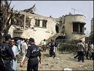 انفجار بمب در الجزایر-آرشیو