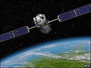Representação artística do satélite OCO, da Nasa