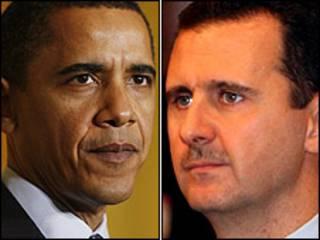 Shugaban Amurka, Obama dana Syria, Asad