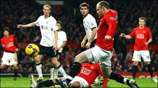 Wayne Rooney của Man Utd