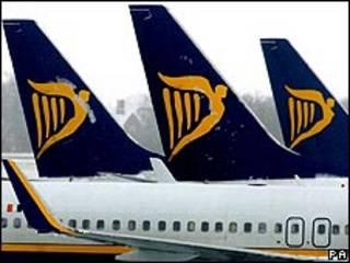 Aviões da Ryanair (arquivo)