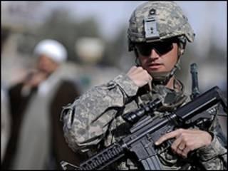 Soldado americano no Iraque
