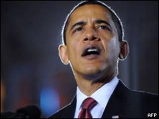 باراک اوباما در کمپ لژون سخنرانی می کند - 27 فوری 2009