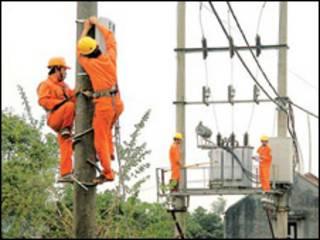 Công nhân ngành điện Việt Nam