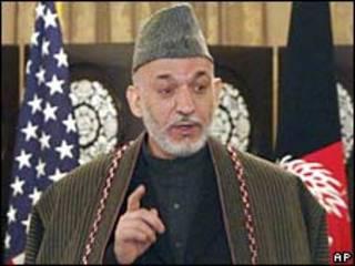 حامد کرزی، رییس جمهور افغانستان