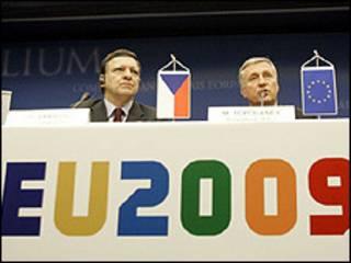 Lãnh đạo châu Âu tại cuộc họp