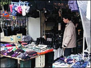Chợ của người Việt tại Czech