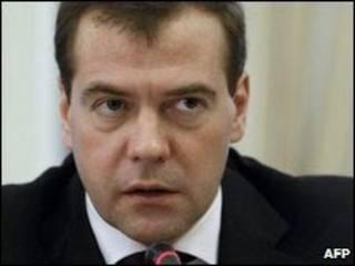 Dmitry Medvedev (arquivo)