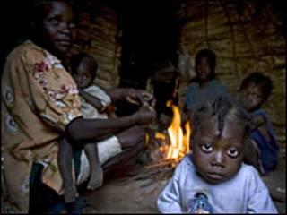 Em bé ở Haiti