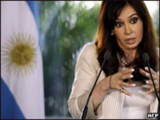 Cristina Kirchner (arquivo)