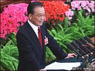 Wen Jiabao, premiê chinês