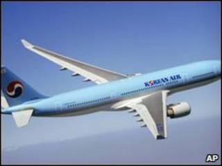 Avião sul-coreano (arquivo)