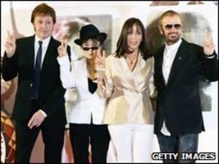 Paul McCartney và Ringo Starr